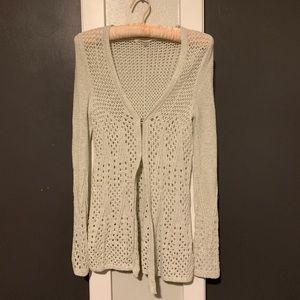 Anthro light sweater